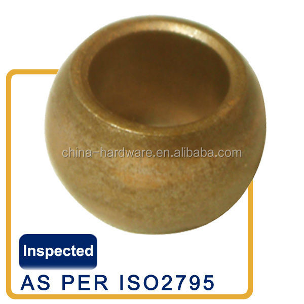 Fan motor bronze bush,electrical motor spherical bushing