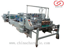 GIGA LXFG-2000 Glue Binding Machinery GIGA LX-FGO Corrugated Cardboard Carton Automatic Folder Gluer Machine Offline Model