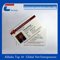 3D Printing Machine Plastic PVC Transparent Business Card