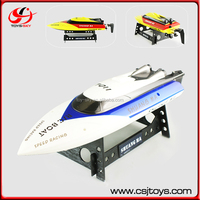 Anti Rollover 4CH High Speed Kids Racing Play Ship 2.4G Remote RC Hobby Boat Battery Boat Toys