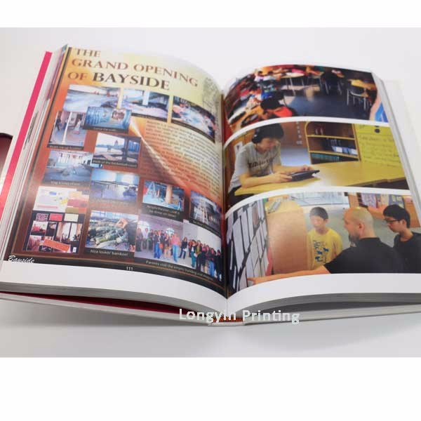 Print cheap A3,A4,A5 size cook book printing on demand hardcover book