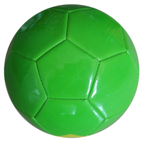 Official size 5 custom print pvc promotional soccer ball