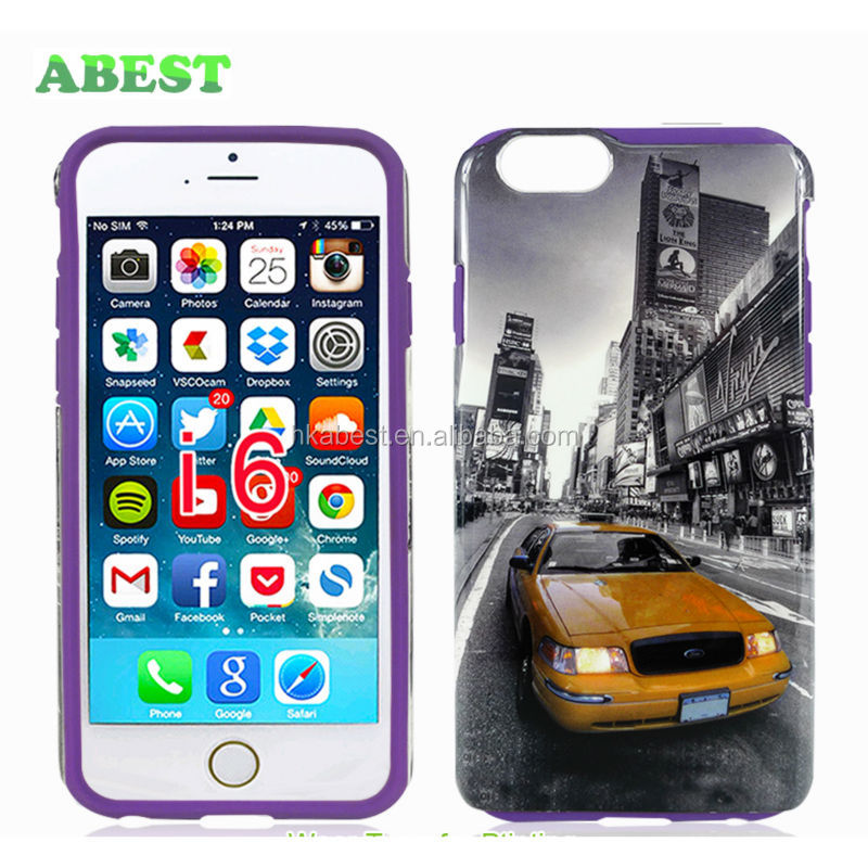 For Apple iPhone 6 OEM Case, Water Transfer Printing Case, Customer Design Accept
