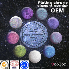 Chrome Powder pigment for mirror magic effect for beauty nail art use