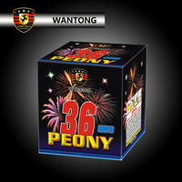 1 4G Peony Consumer Fireworks Cakes