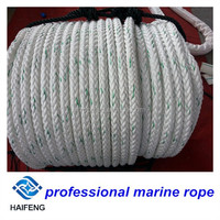 braided mooring line