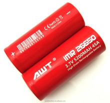 High Capacity 26650 5200mAh Rechargeable Lithium ion Battery Geb 8043125 3.7v 6000mAh Battery Cells