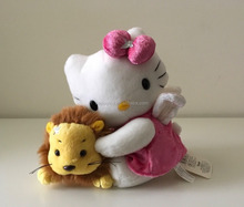 HI 15 cm high quality cute hello kitty stuff plush toy for wholesale china manufacturer