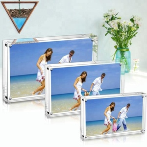 picture love 8x10 clear square acrylic magnetic photo frame manufacturer