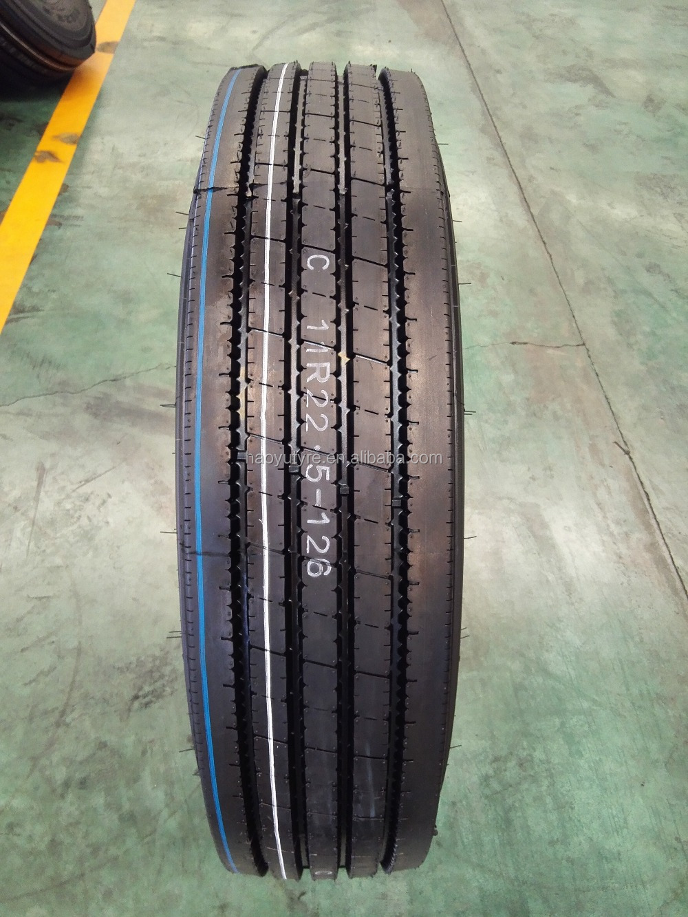 Radial truck tires 11R22.5, 11R24.5, 295/80R22.5 trailer/tractor/steer/drive, DOT/Quality Liablity insurance