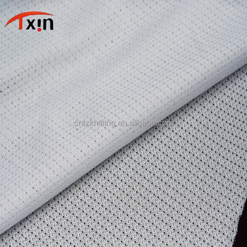 Anti-Static polyester glitter smooth stretch mesh fabric for jacket lining and decorate