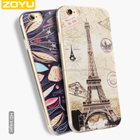 the original printing 3d case for cell phone, soft tpu cover for iphone 6