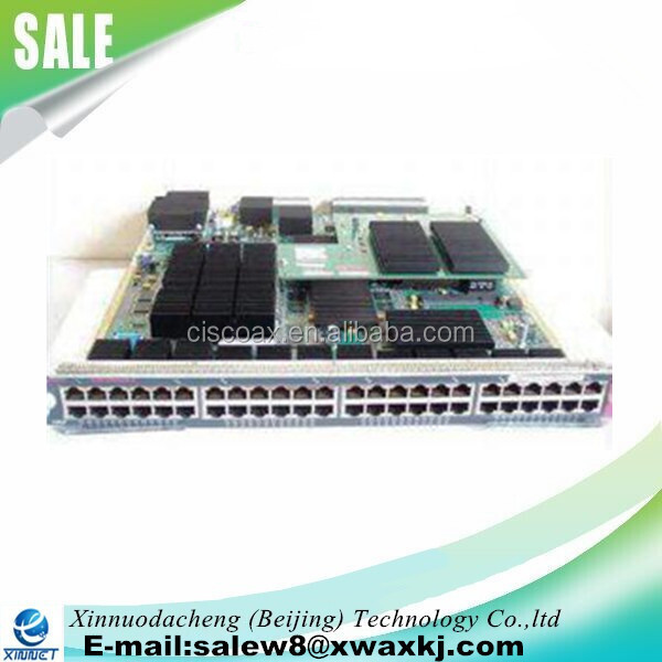 Used Cisco Cat 6500 Series WS-X6748-GE-TX switch module