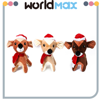 Good Quality Decorative Plush Christmas Deer Cartoon Baby Girls Toys