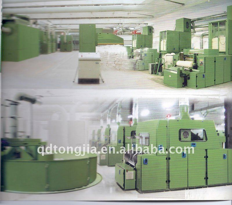 Cotton yarn production line(Open end spinning machinery)