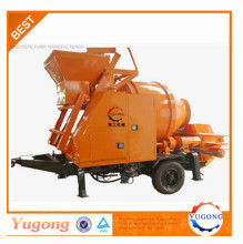Yugong hot sale Mobile Concrete Mixing Pumps Machine