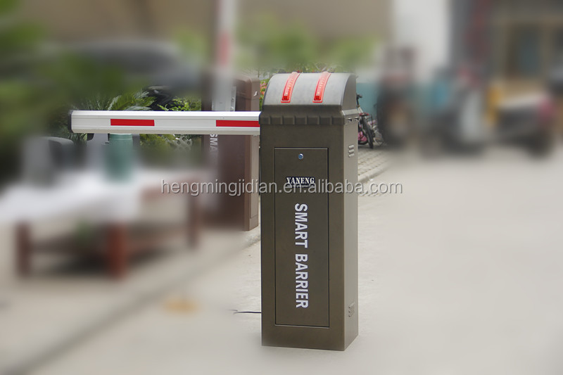 Intelligent Road Traffic Boom Barrier Equip Automatic Barrier Gate System