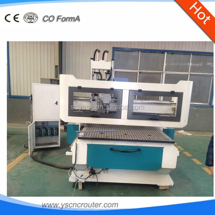 3d photo carving cnc router wood cnc router with atc multi spindle automatic loading and unloading