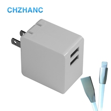 New Portable Travel Power USB Charger Fast Charger Wall Adapter Dual USB Charger
