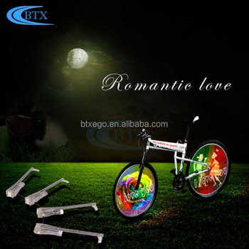 2018 Fashion waterproof led bicycle wheel light 416 Led Bicycle Wheel Light