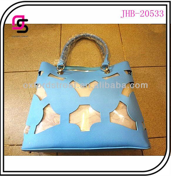 2014 pu fashion laser pattern lady tote bag JHB-20533