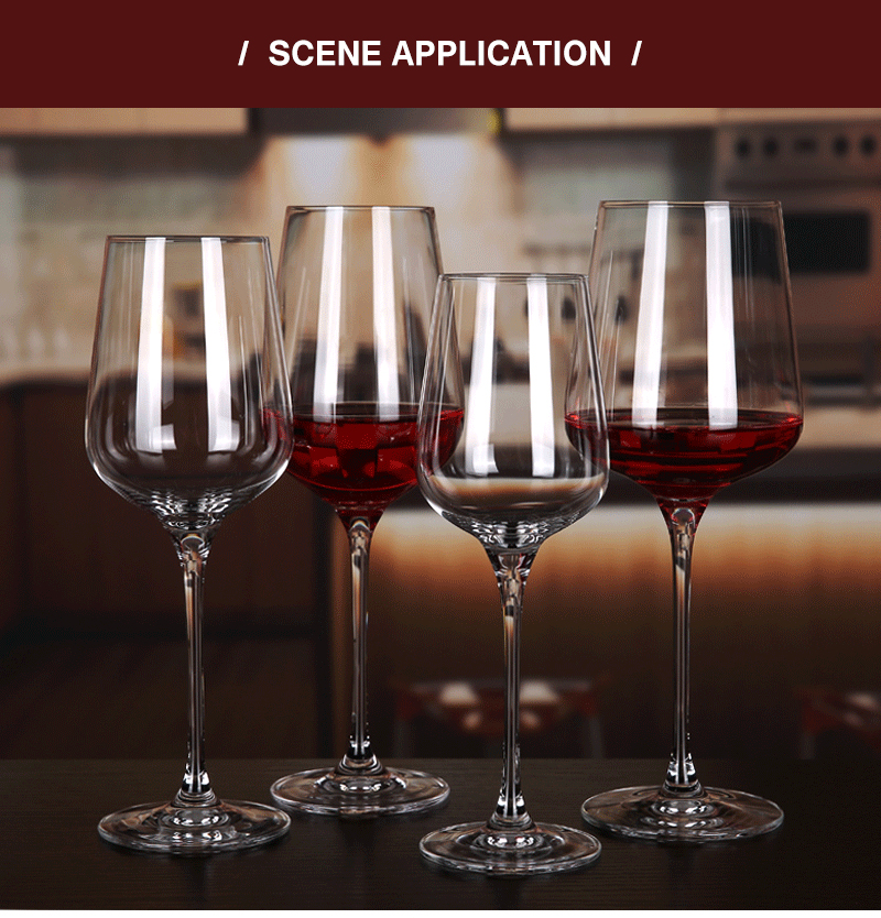 China Wholesale Goblet Wine Glass Cup, Crystal Red Wine Glasses Set