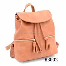 2017 New Backpack Travel Bag Logo Customized Fashion Hand Bag MOQ Lady Hand Bag