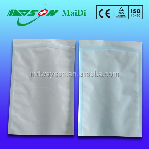 disposable medical heat sealing insulated packaging pouch/bag