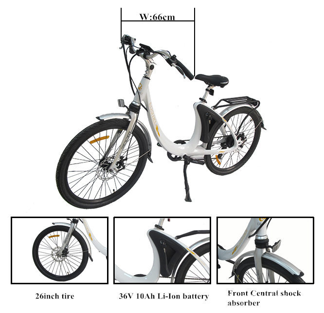 2017 Lark OEM best battery 26 inch frame wheel electric bicycle