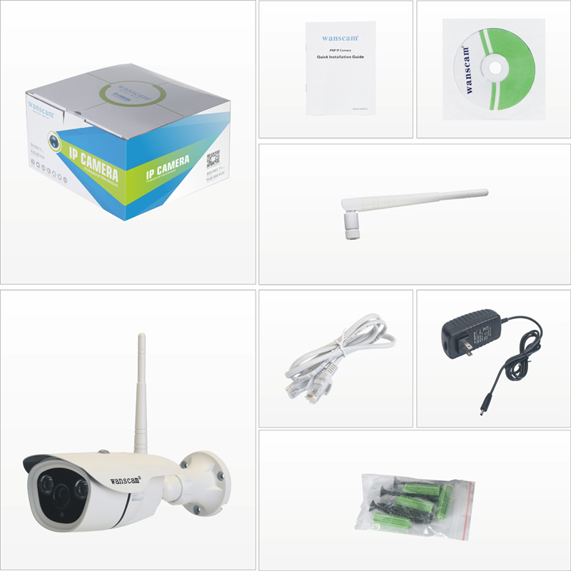 2015 wanscam HW0042 960P outdoor wireless wifi IR-CUT p2p 960P camera