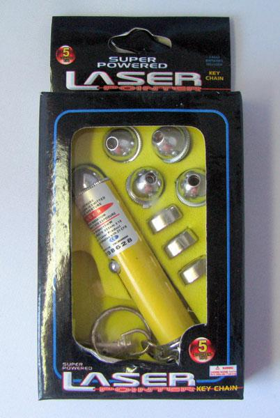 Red Laster Pionter Pen 5in1 Laster pointer pen