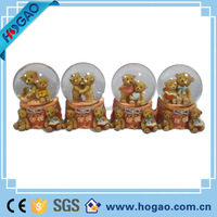 love bears water dome decorative craft