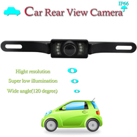 120 Degree Wide Angle Waterproof Car small hidden camera for cars with Mirror Image