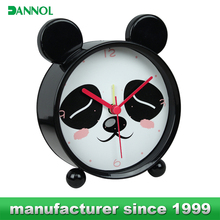 Guangzhou Animal shaped cartoon children lovelty kids decors table alarm clock