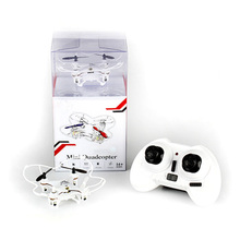 2.4G RC Quadcopter with 6--Axis Gyro 3.7V Mini Remote Control Helicopter RC Drones