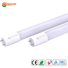 free sample 130 lux 18w PC solar garden light with light sensor with ce rohs iec t8 led tube light