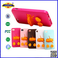 Silicon Animal Shape Phone Case for iPhone 4 4S