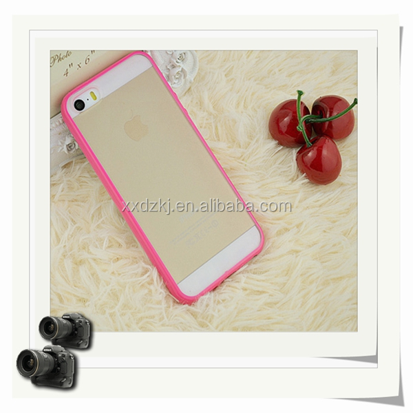 Transparent Clear Silicon Case Cover for IPhone 5, For IPhone 5G Clear Silicon Case
