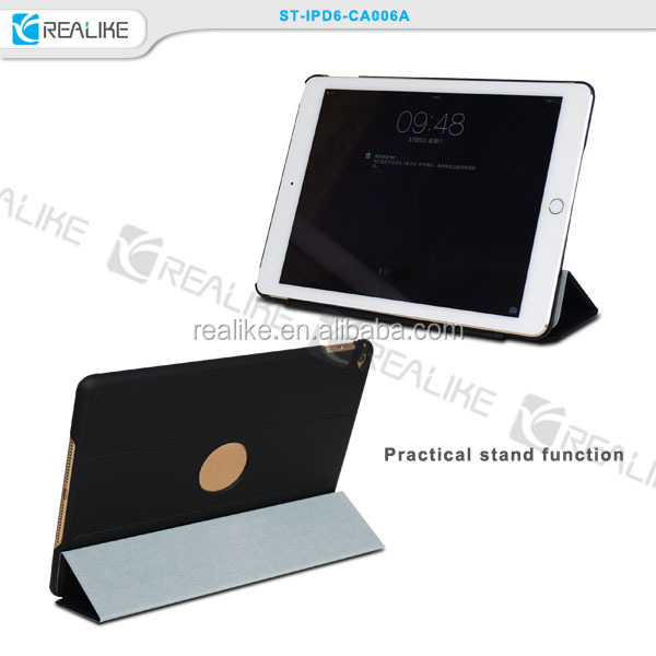 Factory Directly Supply For Apple iPad Air 2 iPad 6 6th Case Smart Cover Luxury Leather Stand New