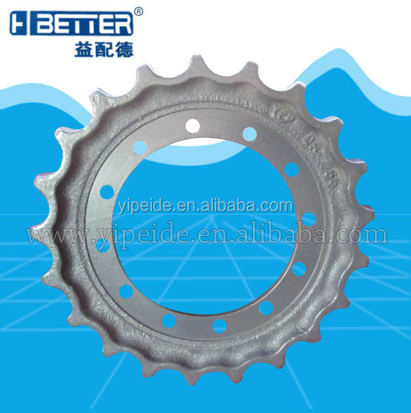 machine drive sprocket bulldozer sprocket