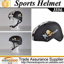 ABS soft black snow helmet for cheap sell
