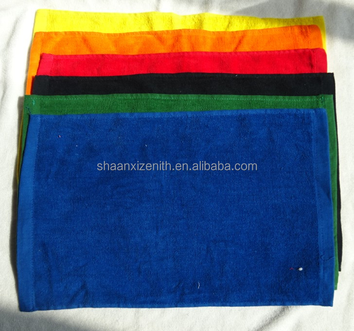 wholesale promotion cotton velour cleaning rally towels