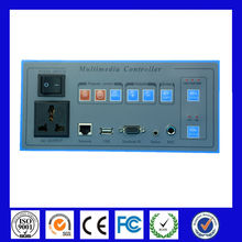 Classroom control system multimedia audio controller driver for display, projector, computer