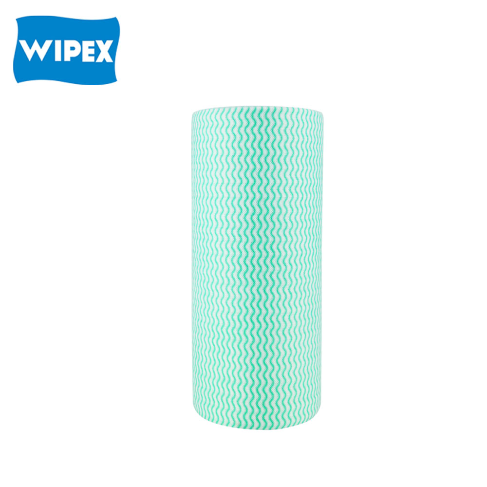 Latest Design Promotional Multipurpose Disposable Spunlace Cleaning Household Non-woven Cloths Roll