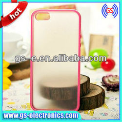 Clear Glossy Skin Transparent Plastic Case for iPhone 5 5G