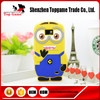 3D Cartoon Despicable Me 2 Minions Silicone Phone Case For Samsung Galaxy S2 9100 Case