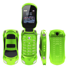 NEWMIND F15 Car Shaped very small size flip dual sim mobile phone