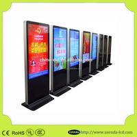 wide use Full HD 55 inch cheap lcd touch screen kiosk Network Advertising Media Player computer monitor