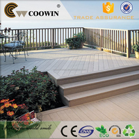 High impact water resistant new garden wood plastic laminate flooring