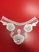 charming cotton lace neck detachable collar